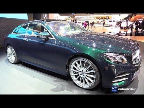 2018 Mercedes Benz E Class E 300 Coupe Exterior Interior