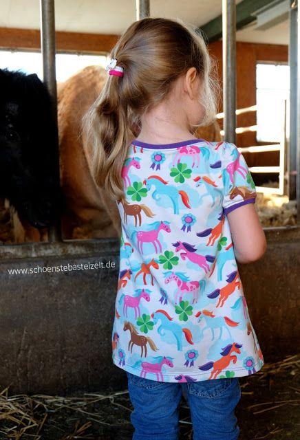 """""""Life is a pony farm"""" - ein Stoffdesign von Hamburgerliebe, vernäht von (c) www.schoenstebastelzeit.de"""