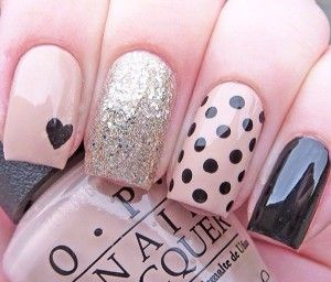 Simple Nail Art Designs for Short Nails (55)