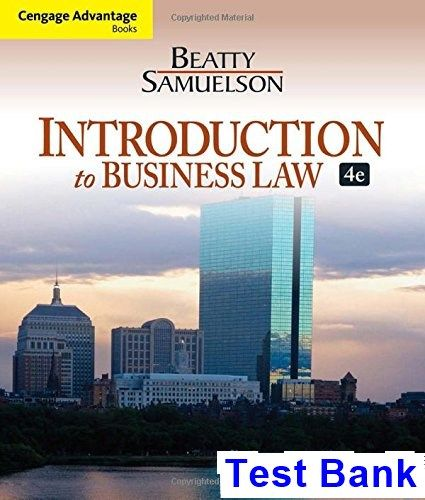 42 best test bank download images on pinterest cengage advantage books introduction to business law 4th edition beatty test bank test bank fandeluxe Image collections
