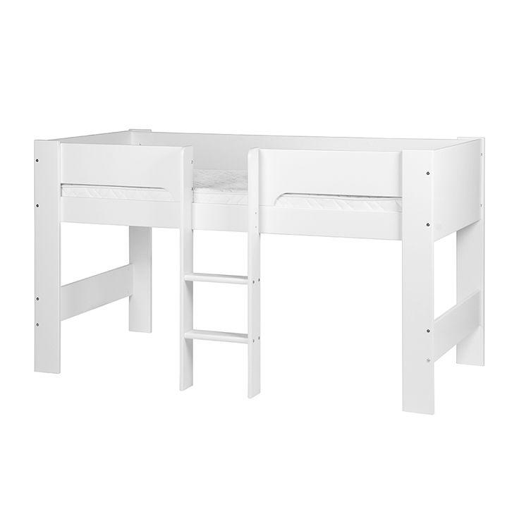 cheap lit mihauteur modern with lit superpose alinea. Black Bedroom Furniture Sets. Home Design Ideas