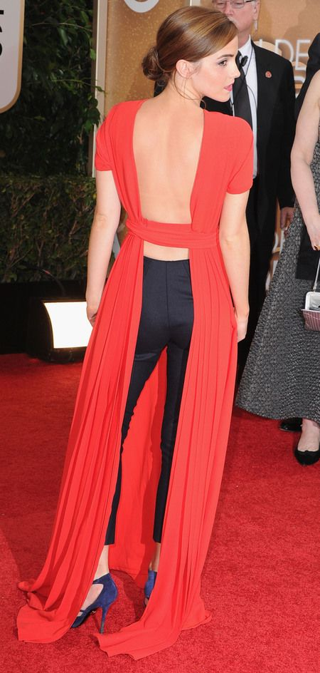 Risk taker. She totally rocked this look (how could she not, she's EMMA WATSON).