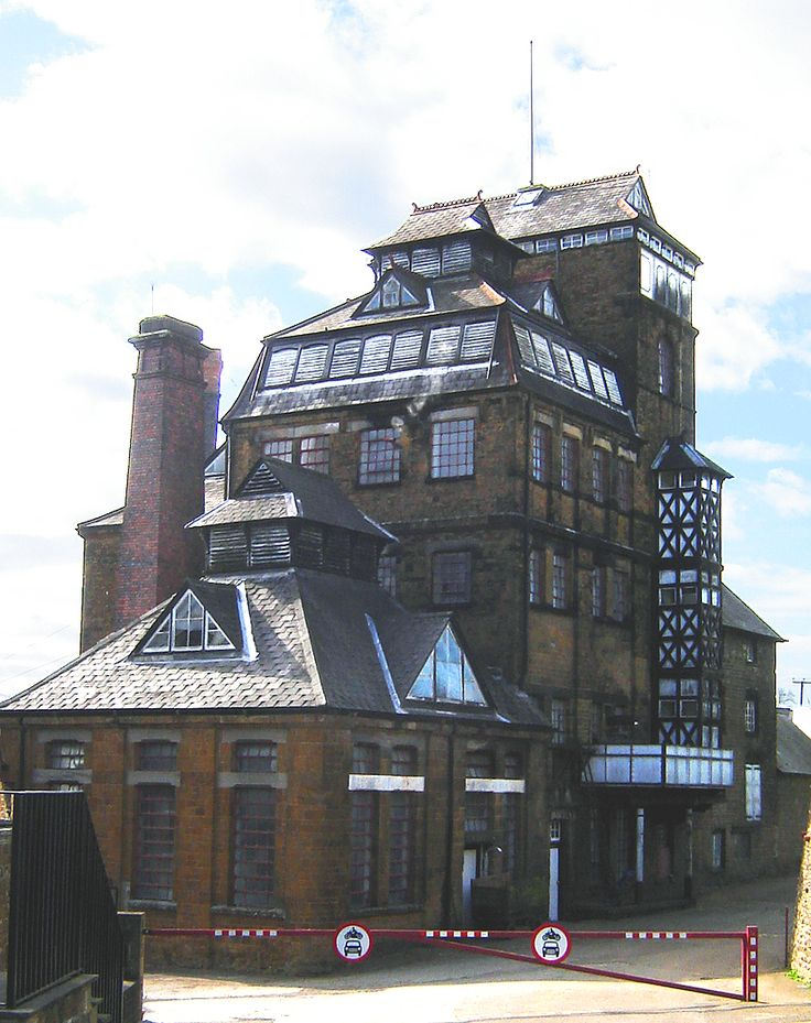The Hook Norton brewery is one of Britain's last working tower breweries