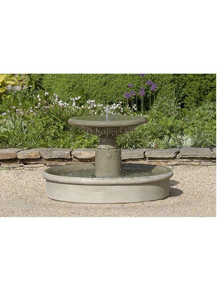 Esplanade Fountain Flower Garden_Front Yard Concrete