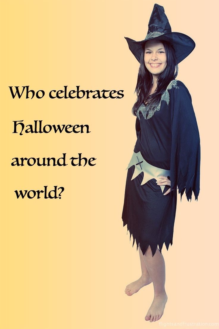 Do you know the true meaning of Halloween?   And do you know who celebrates Halloween around the world?   Don't be scared, go here to find out more - http://flightsandfrustration.com/what-countries-celebrate-halloween/