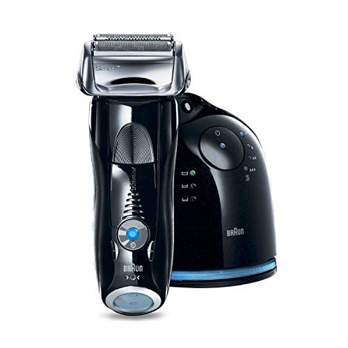 Special Offers - Braun Series 7 760cc-4 Electric Foil Shaver for Men with Clean & Charge Station Electric Mens Razor Razors Shavers Cordless Shaving System - In stock & Free Shipping. You can save more money! Check It (November 12 2016 at 11:23PM) >> http://electricrazorusa.net/braun-series-7-760cc-4-electric-foil-shaver-for-men-with-clean-charge-station-electric-mens-razor-razors-shavers-cordless-shaving-system/
