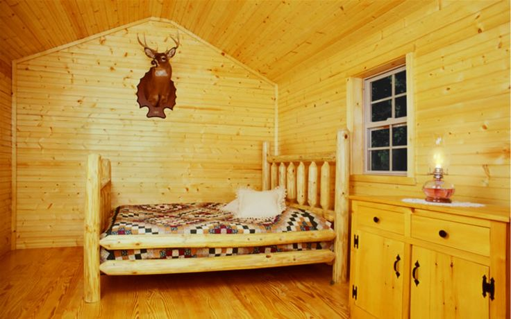 Tongue And Groove Pine Walls And Ceiling Small House