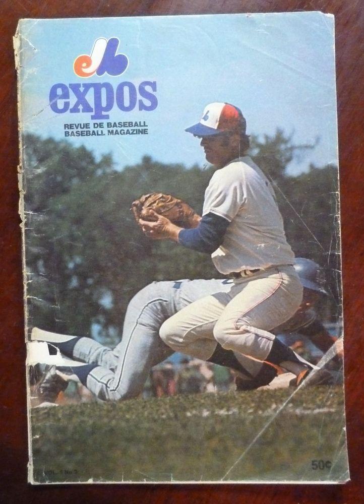 1971 MLB Montreal Expos Baseball Magazine Vol. 3 No 3 / August 1971 Program