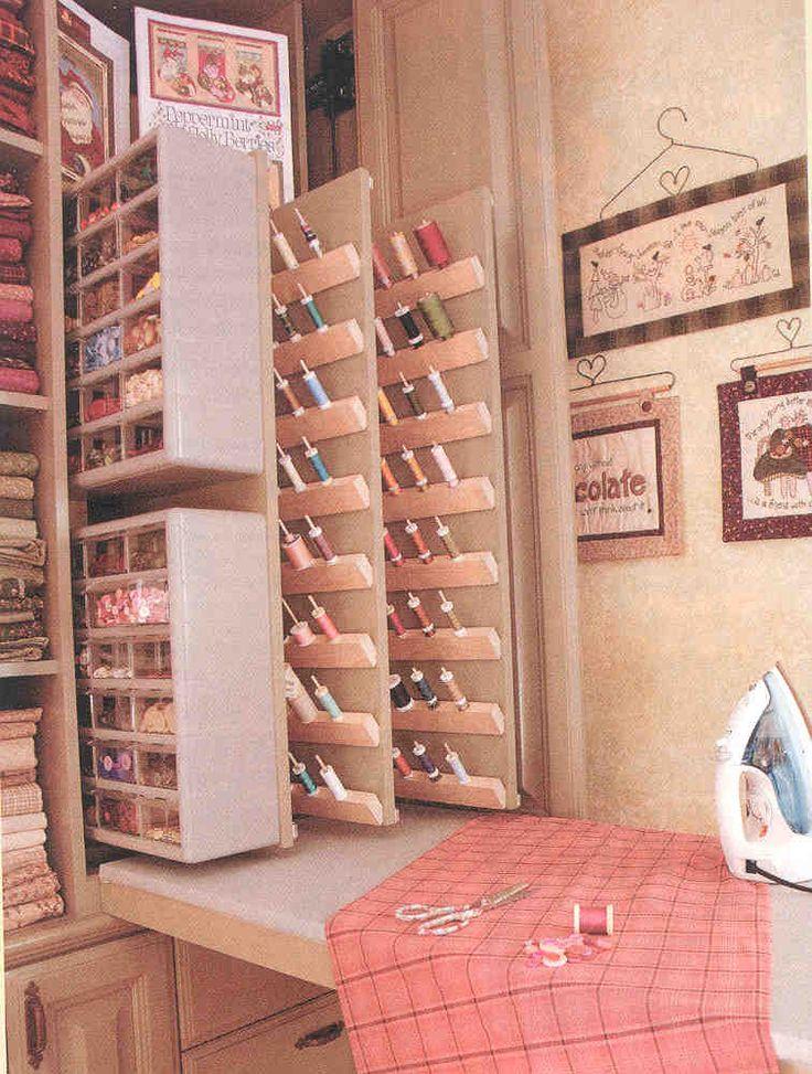Nancy Halvorsen's custom storage cupboard