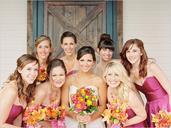 how to ask a bridesmaid after the others