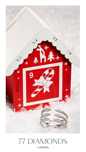 Arrows of love and brilliance with our new Seta ring. #adventcalendar #77Dadventcalendar #christmas