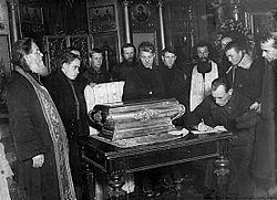 Akcja otwarcia relikwii Rosyjskiego Kościoła Prawosławnego – kampania profanacji i grabieży relikwii podjęta przez bolszewików w marcu 1919; jedna z akcji wymierzonych w Rosyjski Kościół Prawosławny, zainspirowanych przez Radę Komisarzy Ludowych, której przewodniczącym był Włodzimierz Lenin. Koncepcja akcji powstała w Narodowym Komisariacie Sprawiedliwości[