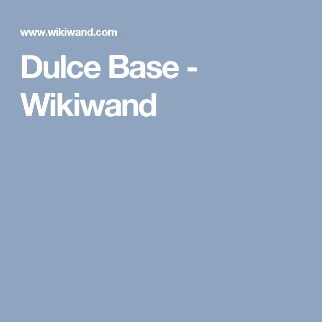 Dulce Base - Wikiwand