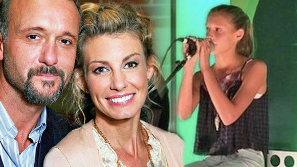 """Country Music Lyrics - Quotes - Songs Tim mcgraw - Tim McGraw and Faith Hill's Daughter Dazzles With Dixie Chick's """"Travelin' Soldier"""" (Live) - Youtube Music Videos http://countryrebel.com/blogs/videos/18878279-tim-mcgraw-and-faith-hills-daughter-dazzles-with-dixie-chicks-travelin-soldier-live"""