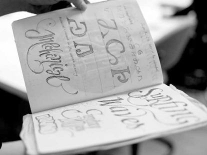 Type By Hand Workshops - Feb 16 & 17 + 23 & 24