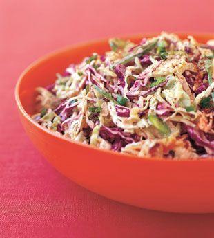 ... Table, Cabbages, Side, Food, Slaw Recipes, Rainbows, Rainbow Slaw