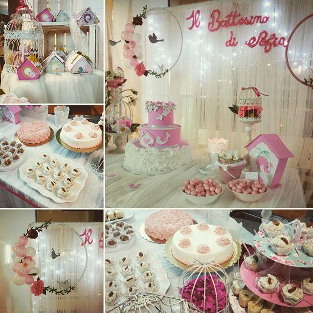 Il battesimo di Sofia #Vintage #bird #circle #party #eventplanner #abitiamo #sicily #decorazioni #idee #festa #happy #birdcage #rosa #pink #evedeso #eventdesignsource - posted by Abitiamo https://www.instagram.com/abitiamo. See more Event Planners at http://Evedeso.com