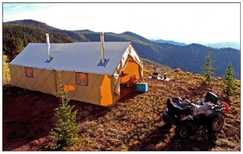 Montana Canvas Produces Top Hunting, Family Camping Tents