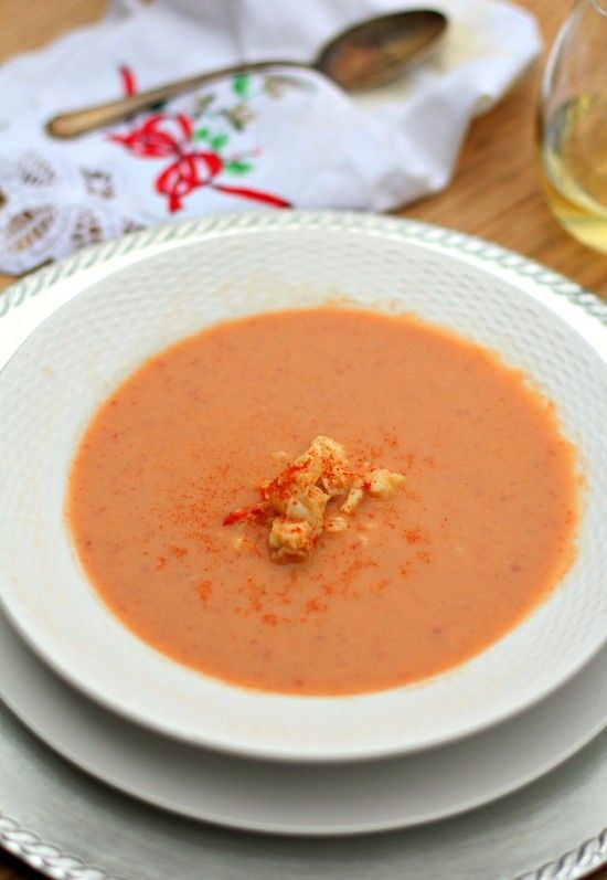 Healthy Lobster Bisque - I would use crab and/or shrimp since we don't like lobster, but this looks really tasty.
