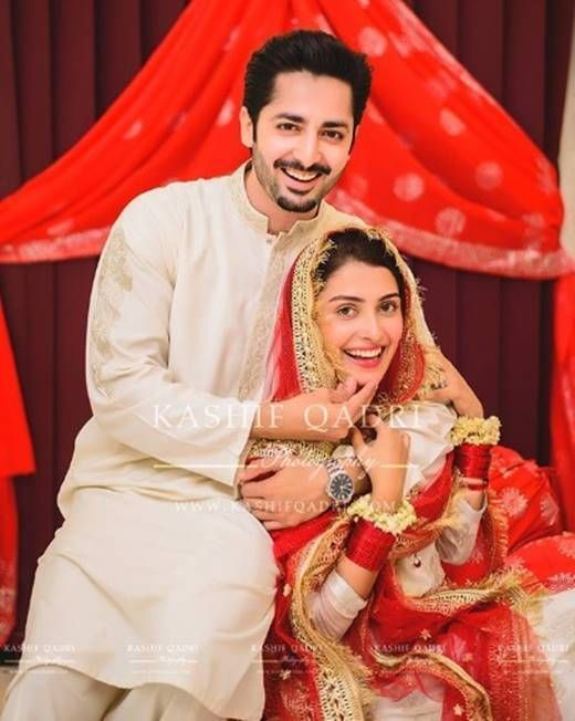 Danish Taimoor and Ayeza Khan's Nikkah ceremony was held on 8th August, a few days before the actual wedding ceremony starts. Here are