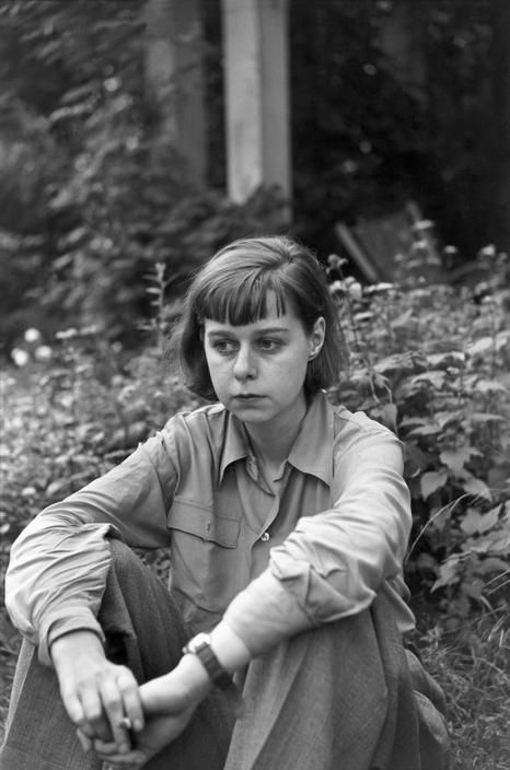 Carson McCullers (1917-1967) - American writer of novels, short stories, plays, essays and poetry. Photo Henri Cartier-Bresson, 1947