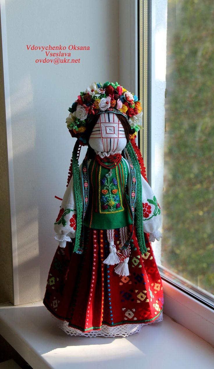 Pin on Folk doll by Vdovychenko Oksana Vseslava