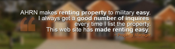 AHRN Quote - Thank you AHRN - Property Managers