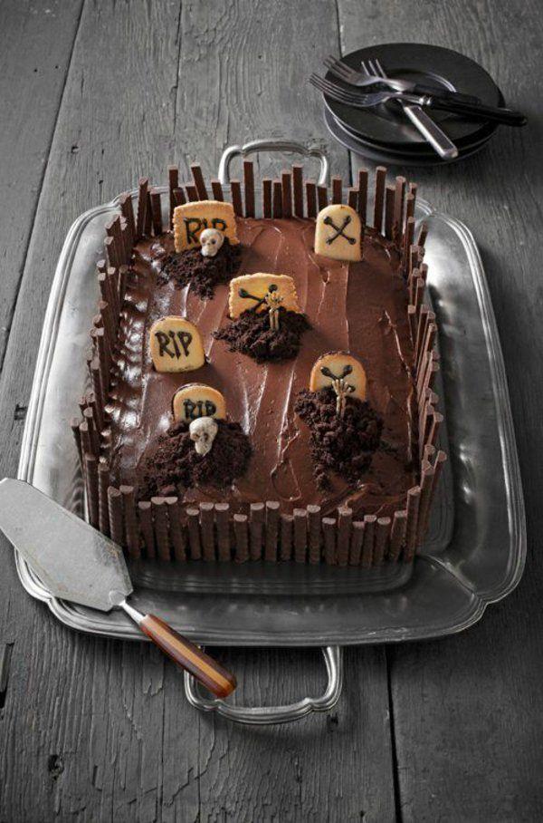halloween gebäck torte kuchen süß                                                                                                                                                                                 Mehr