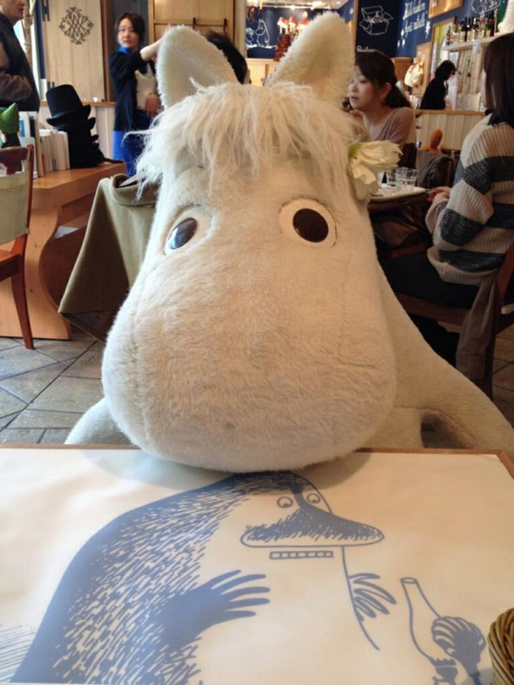 Dine with Moomin at the Moomin Cafe if you're on your own.
