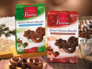 Lidlistä Favorina maustekeksikuviot HUOM! Vain vihreä pakkaus eli maitosuklaapäällysteiset.