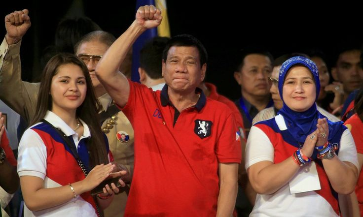Who is the Punisher? Rodrigo Duterte has claimed victory in the presidential elections in the Philippines.