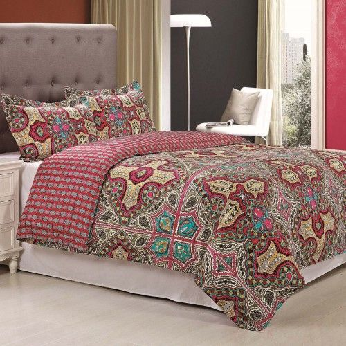 Wildberry Duvet Cover Set (King Size)