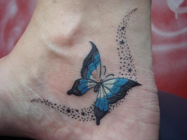 Qual é o significado das tatuagens de borboletas