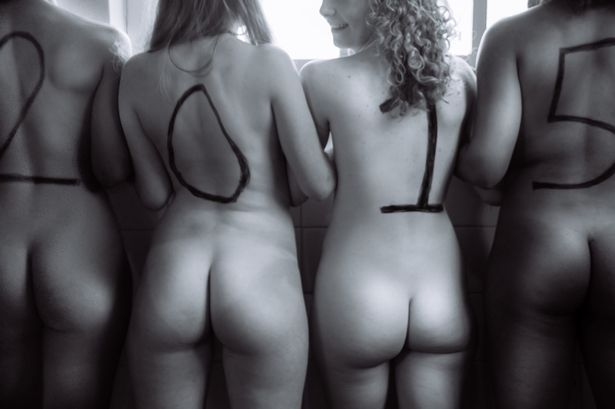 University Women's Rugby team goes naked