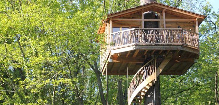 Cabañas en los árboles, auténticas casas en las alturas - https://www.decoora.com/cabanas-en-los-arboles-autenticas-casas-en-las-alturas/