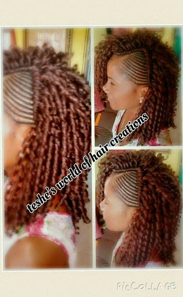 Crochet with soft dread extensions Protective Styles Pinterest ...