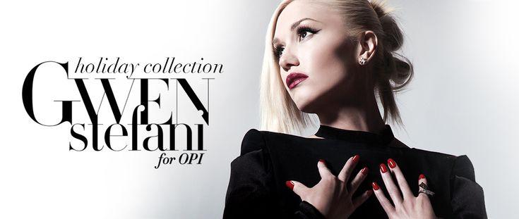Gwen Stefani and OPI nail polish collection - http://everydaytalks.com/gwen-stefani-opi-nail-polish-collection/