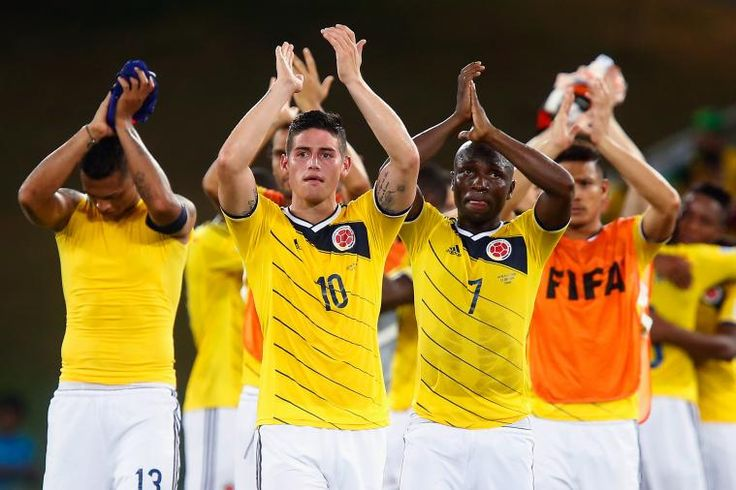 James Colombia Unofficially Top FIFA World Rankings After World Cup 2014 Group Stage  Jun 27, 2014