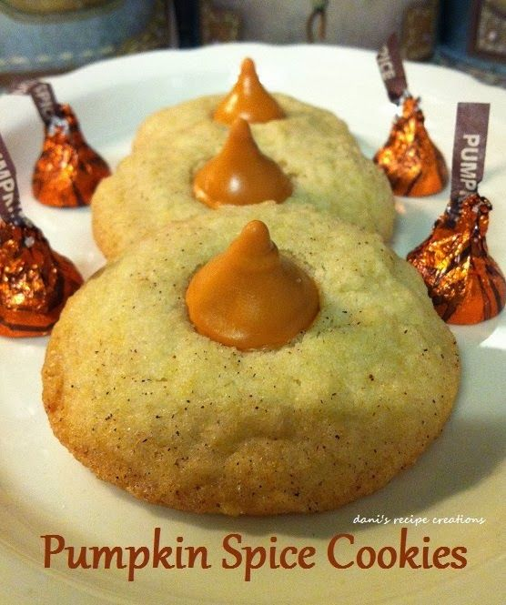 Pumpkin Spice Cookies. This is a good Thanksgiving Dessert for after dinner.