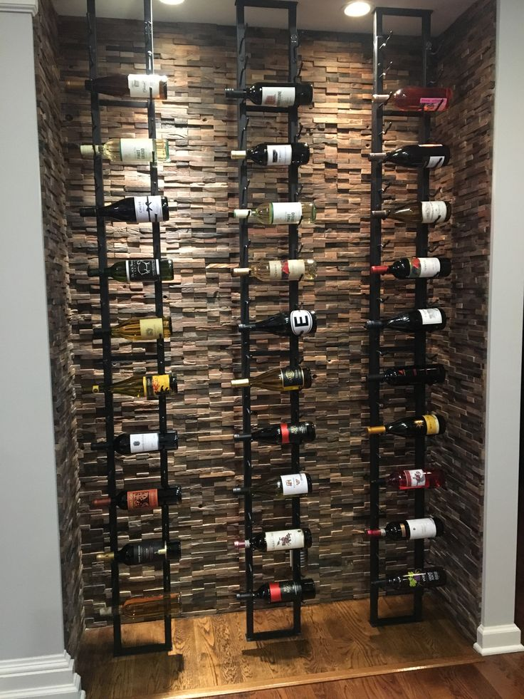 Vintageview wine racks on floor to ceiling frames custom for Wine cellar pinterest