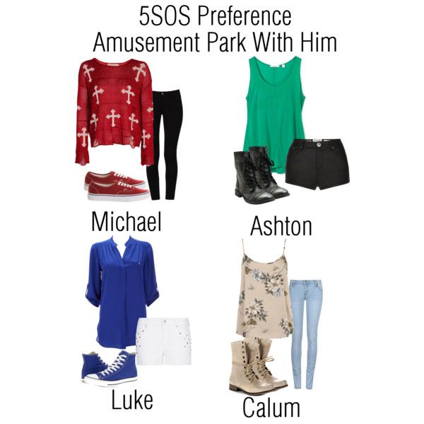 """5SOS Preference - Amusement Park With Him"" by daniellemalik1234 on Polyvore"