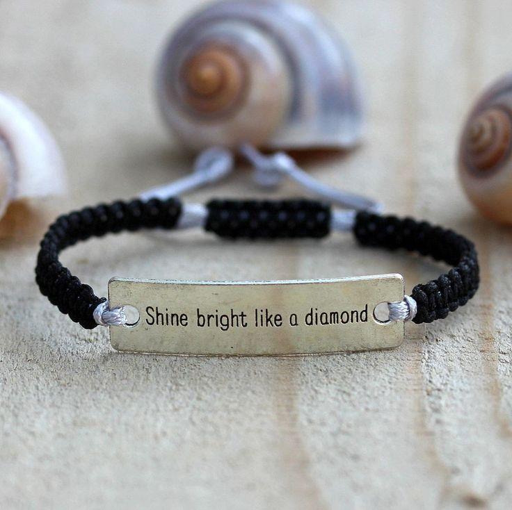 Inspirational jewelry gifts, Bracelets with meaning, Charm bracelet, Bracelets…