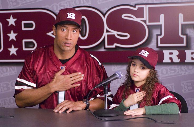 Entrenandoapapa En Disneychannel Dwayne Johnson Movies Madison Pettis Dwayne Johnson