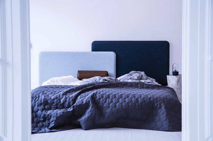 Layer It headboards designed by Anne Boysen #seng #bed #sengegavl #anneboysen