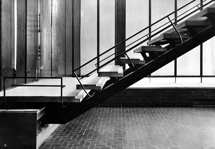 Stair by pierre chareau stairs pinterest art deco Maison de verre paris visite