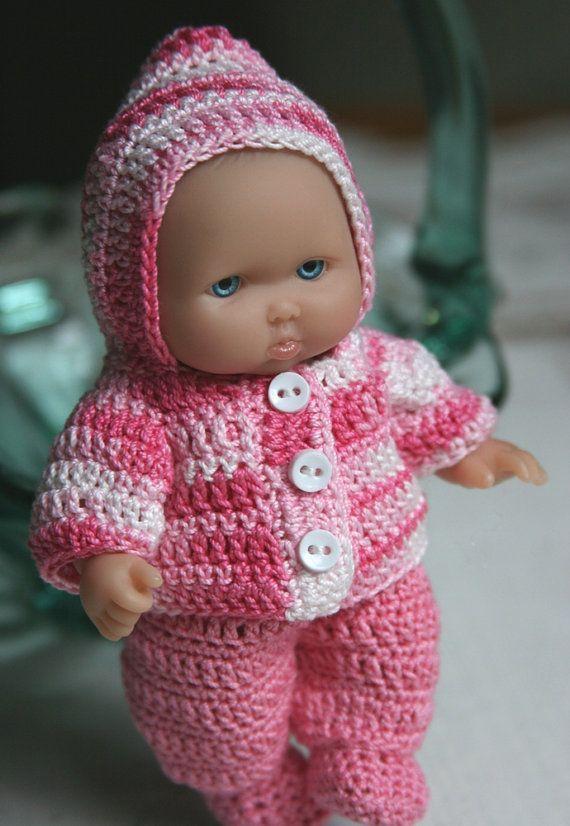 PDF PATTERN Crochet 5 inch Berenguer Baby Doll by charpatterns