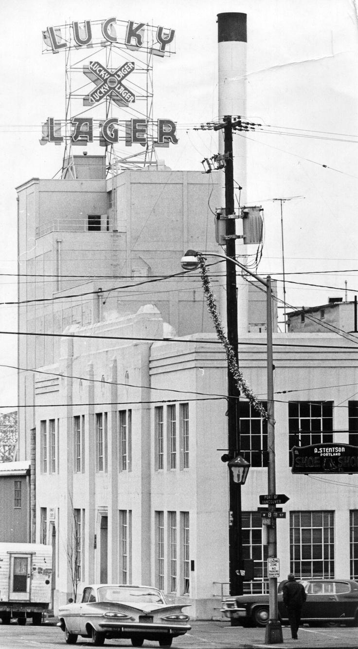 Lucky lager 1961 clark county history pinterest