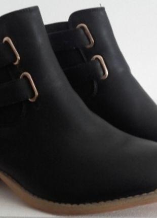 À vendre sur #vintedfrance ! http://www.vinted.fr/chaussures-femmes/bottes-and-bottines/24674550-boots-detail-or-new-look