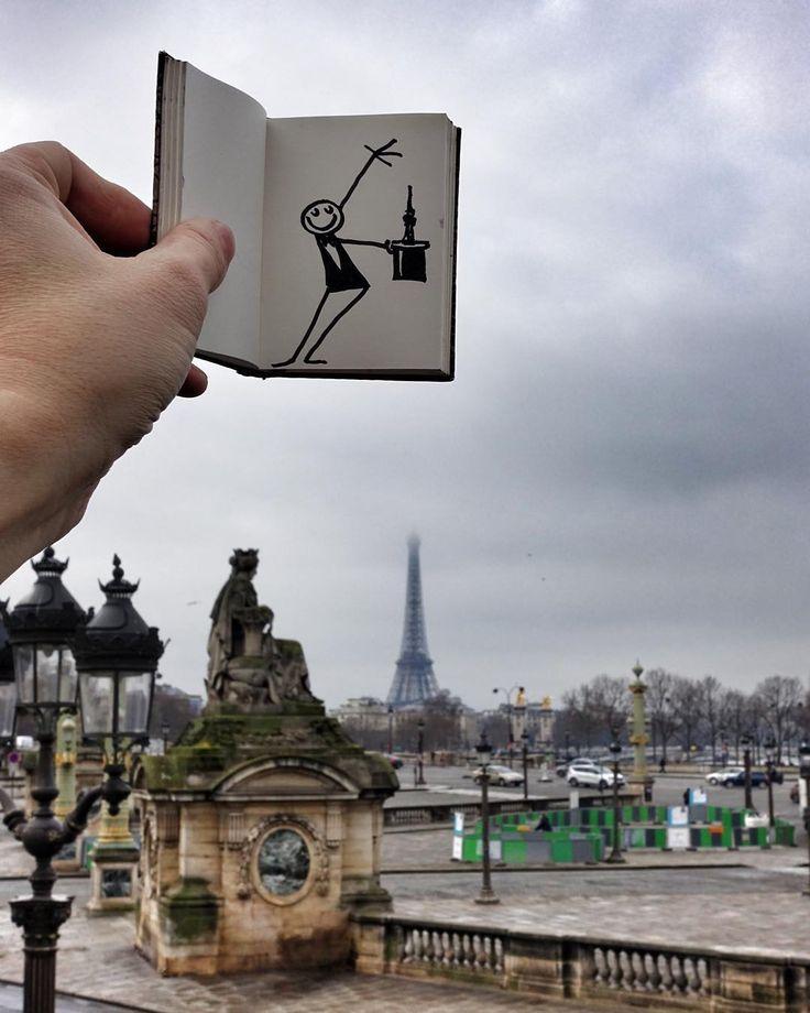 @Paris est magique !  (Paris is Magic) #parisweloveyou