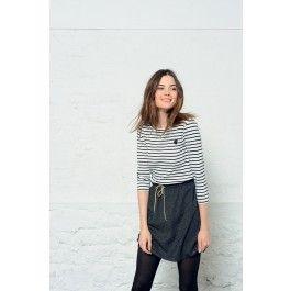 Skirt Galane Blue @ DES PETITS HAUTS